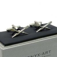 Crossed Oars Cufflinks Rowing Boating New in Gift Box CK681